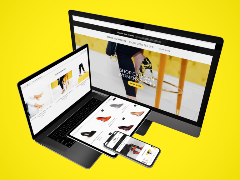 web design, e-commerce design